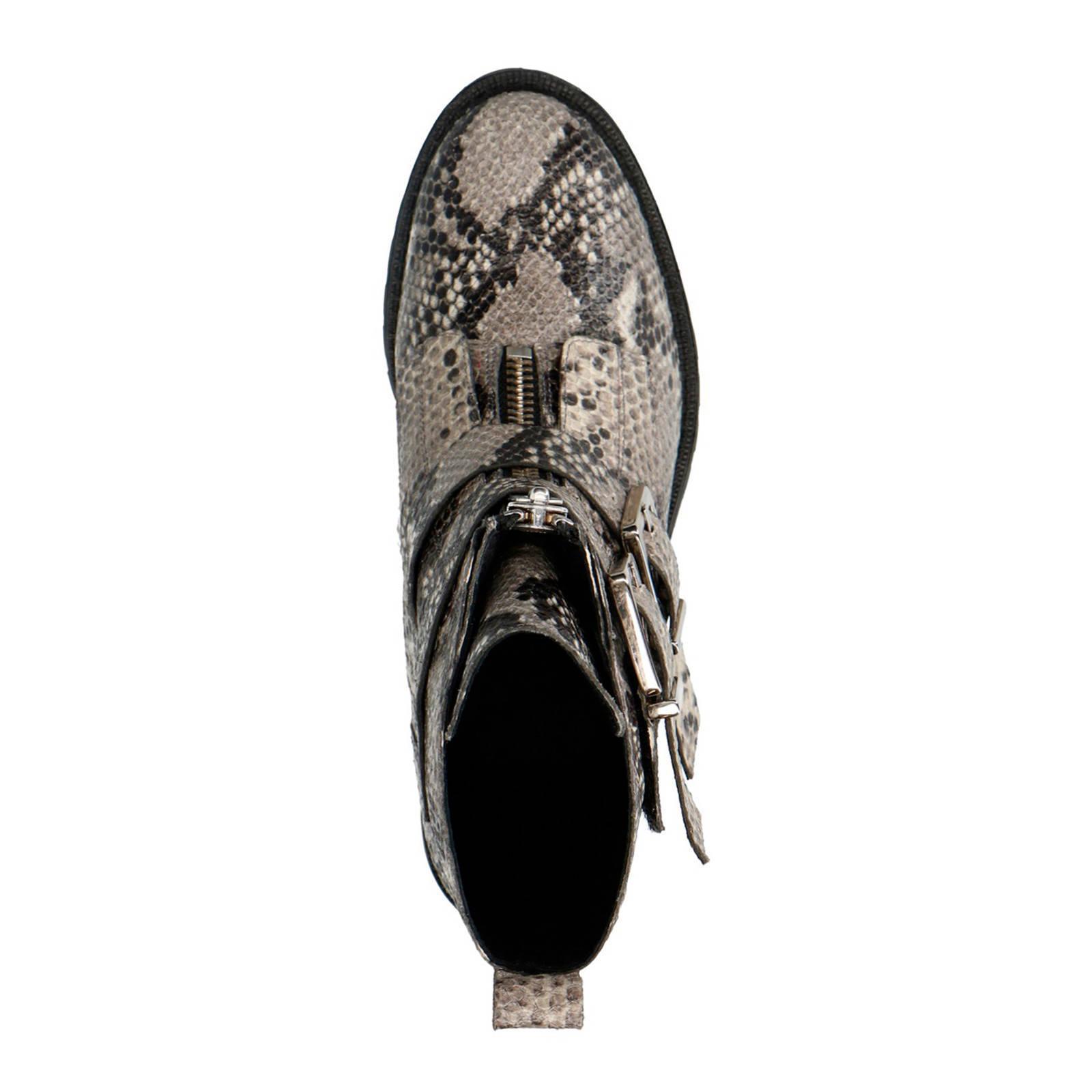 Biker Boots Slangenprint