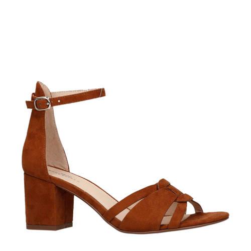 Sacha sandalettes cognac