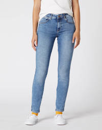 Wrangler skinny jeans water blue, Water blue