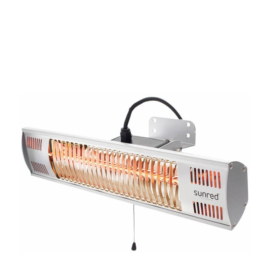 Sunred heater Vigo Wall 1500, Zilverkleurig