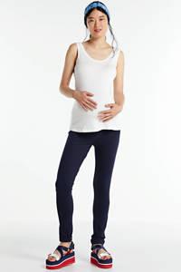 LOVE2WAIT zwangerschaps singlet wit, Gebroken wit