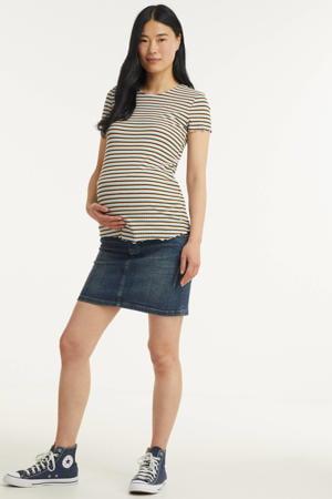 zwangerschaps spijkerrok