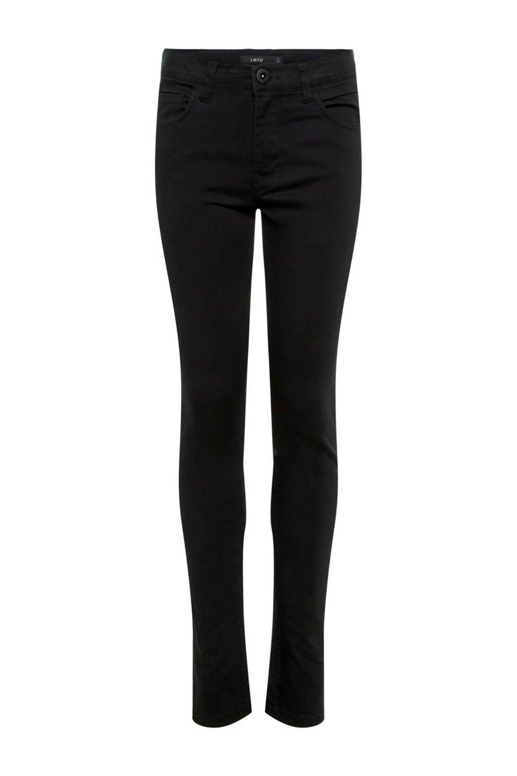LMTD skinny fit jeans Pilou zwart, Zwart