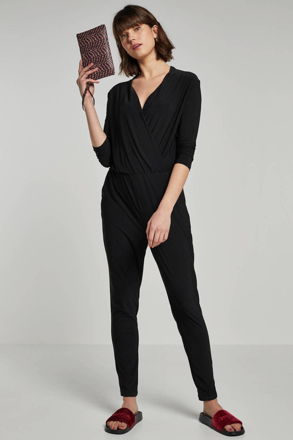ICHI jumpsuit, Zwart