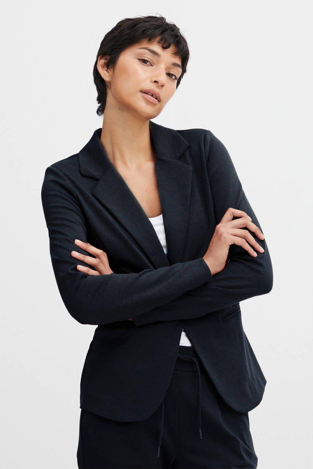 ICHI blazer blauw, Blauw