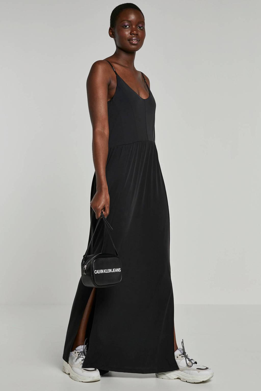 Eksept maxi jurk zwart, Zwart