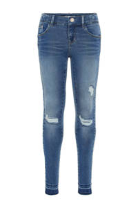 NAME IT KIDS skinny jeans blauw, Blauw