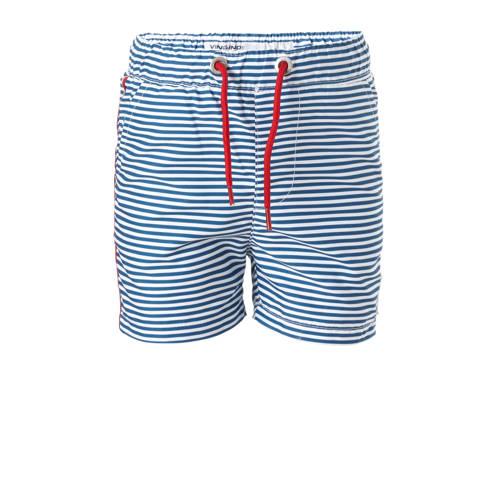 1ee95daa4979df Vingino Gestreepte Zwemshort Blauw vingino kopen in de aanbieding