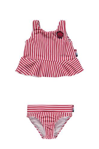 bikini Zeli Mini met ruches rood