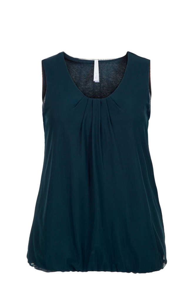 323812aa1dd Miss Etam. Regulier T-shirt groen. 24.99 · Plus mouwloze top donkerblauw