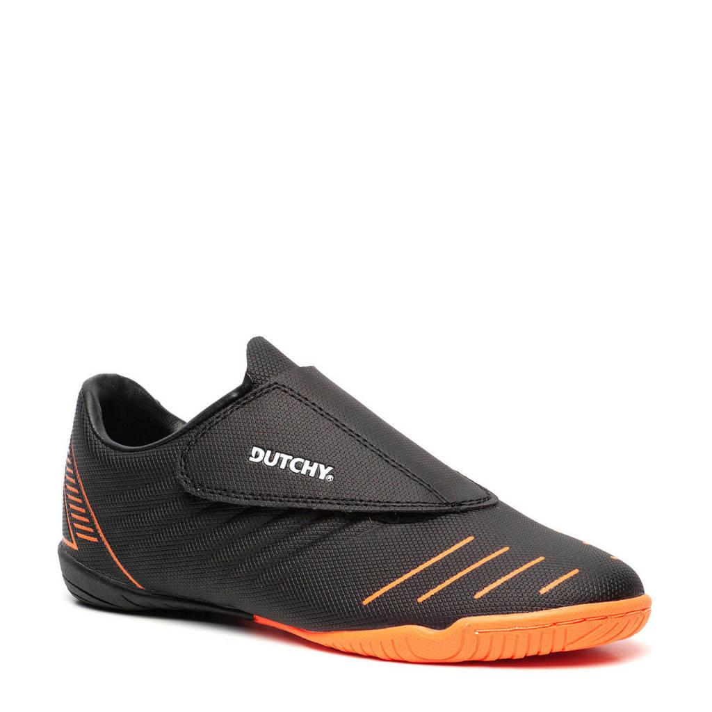 Scapino Dutchy   Indoor voetbalschoenen zwart/oranje, Zwart/oranje