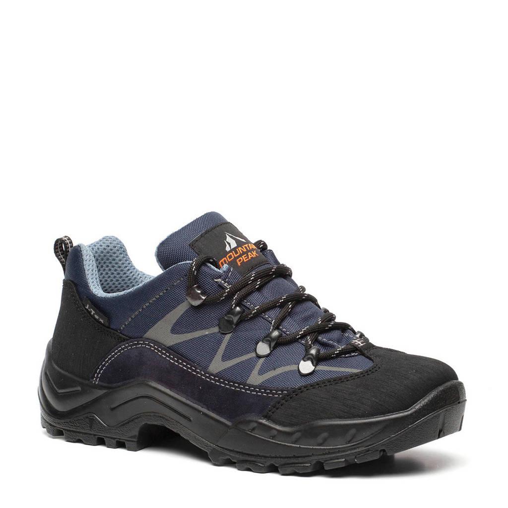 Scapino Mountain Peak   leren wandelschoenen blauw, Blauw