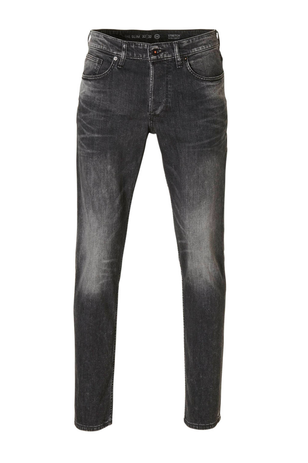C&A The Denim slim fit jeans, Antraciet