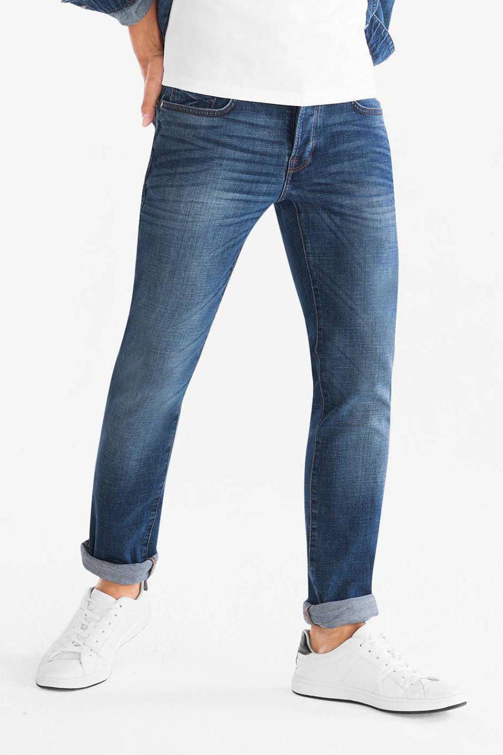 C&A The Denim straight fit jeans blauw, Blauw