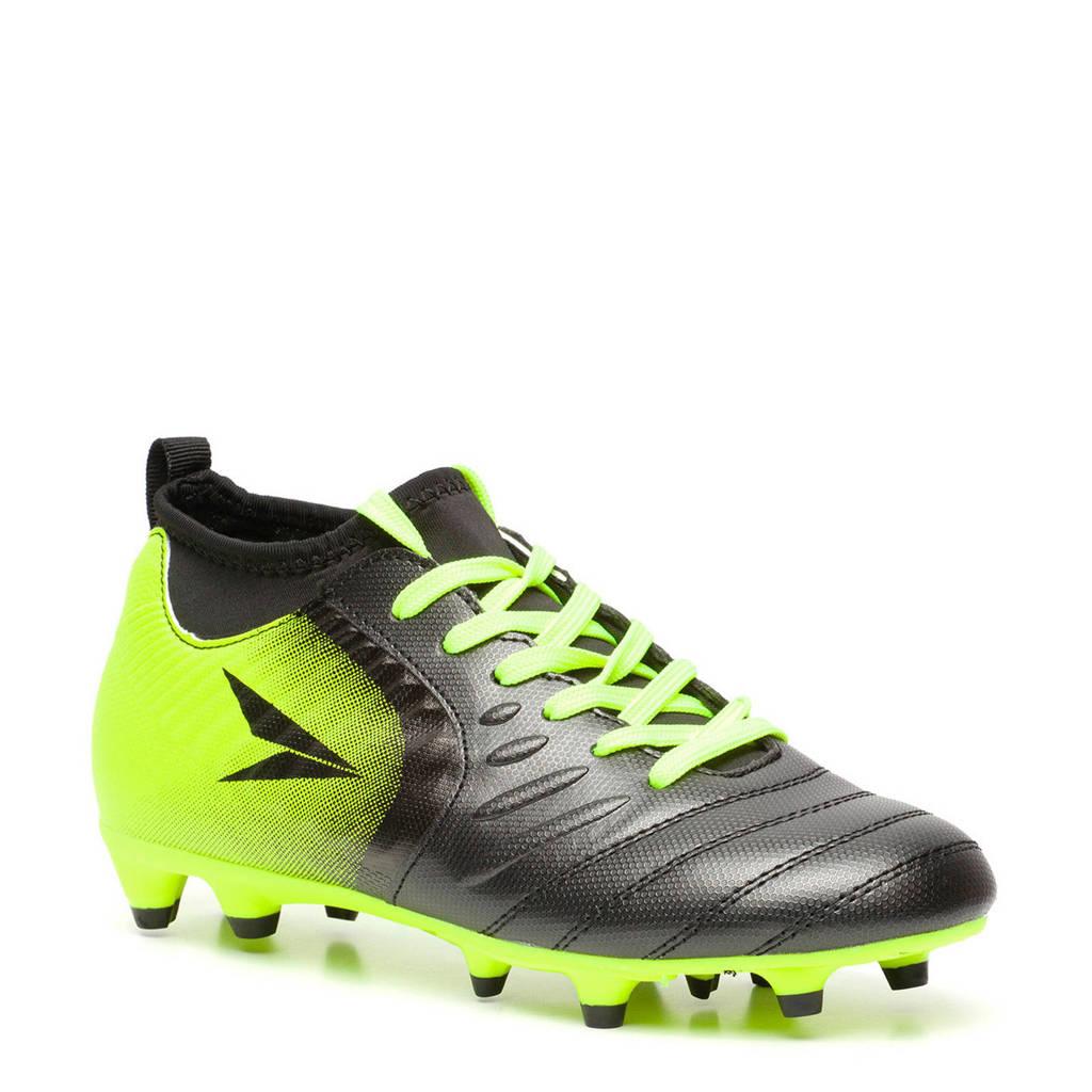 Scapino   Dutchy Pro Dynamite voetbalschoenen zwart/geel (MG), Zwart/geel