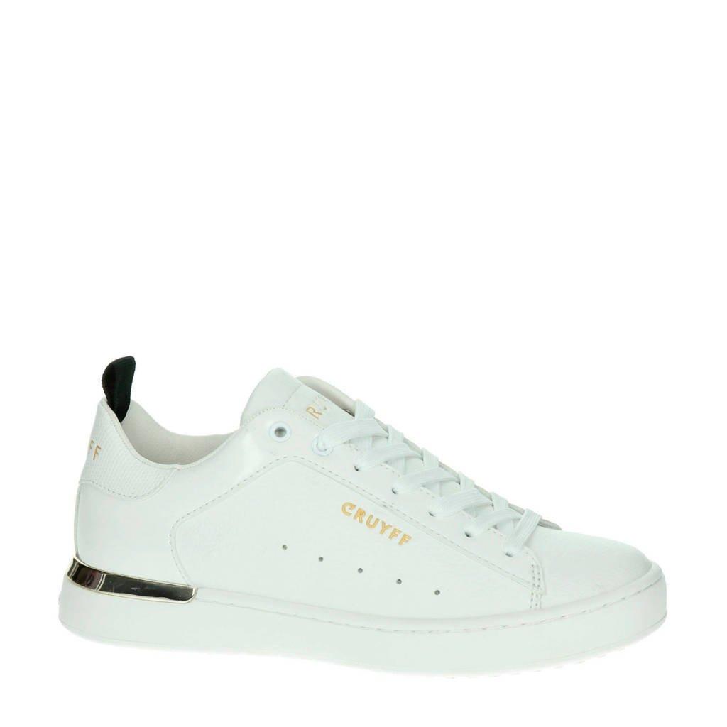Cruyff   leren sneakers wit, Wit