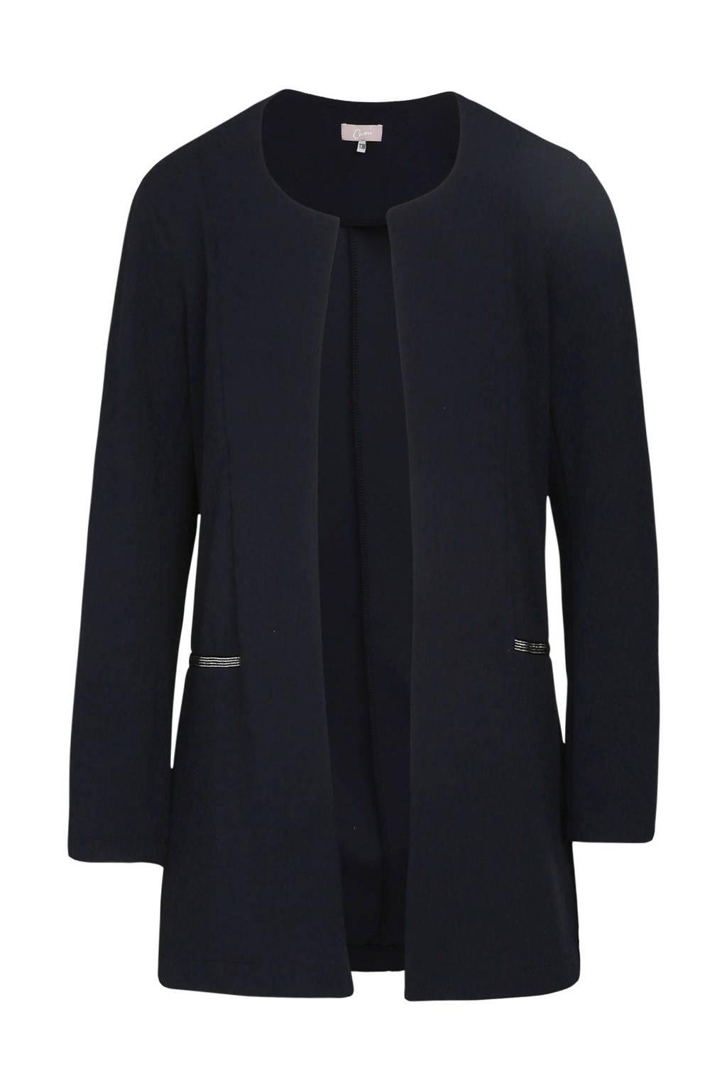 Cassis jas donkerblauw, Donkerblauw