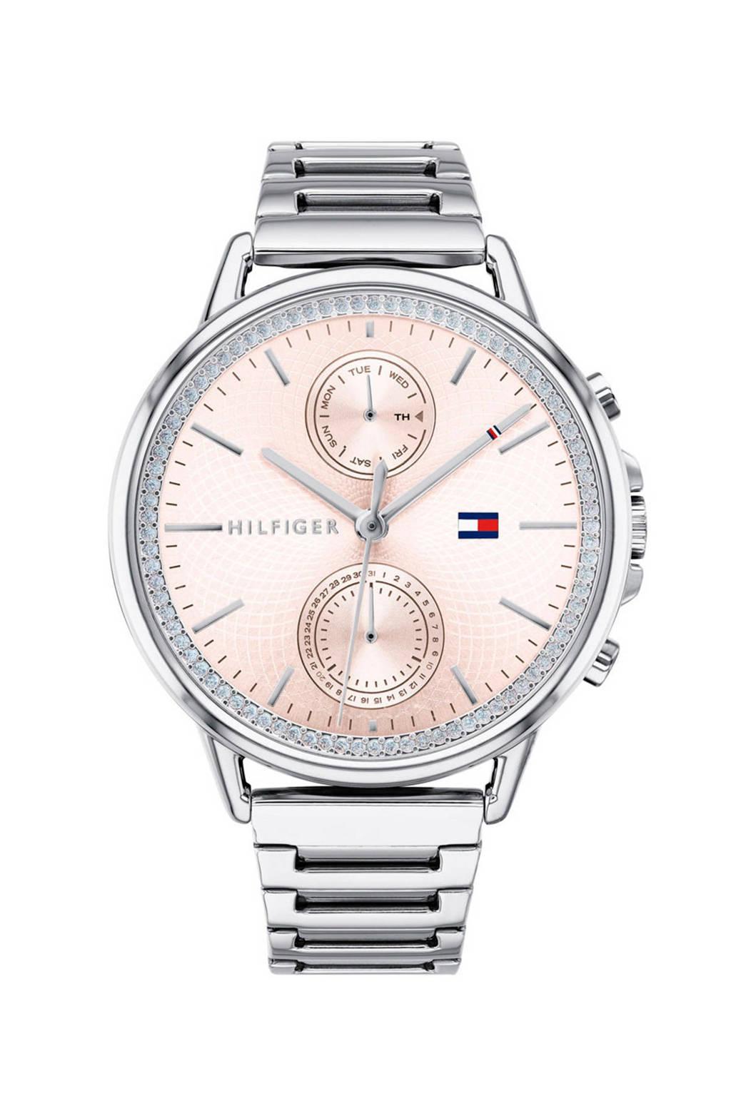 Tommy Hilfiger horloge Carly TH1781917, Zilverkleurig