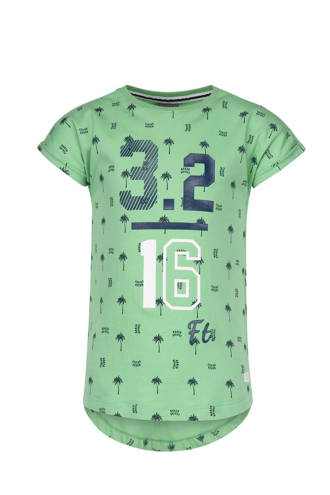 T-shirt Tomer met all over print