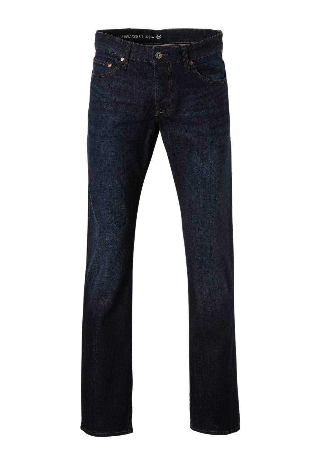 C&A The Denim regular fit jeans, Donkerblauw