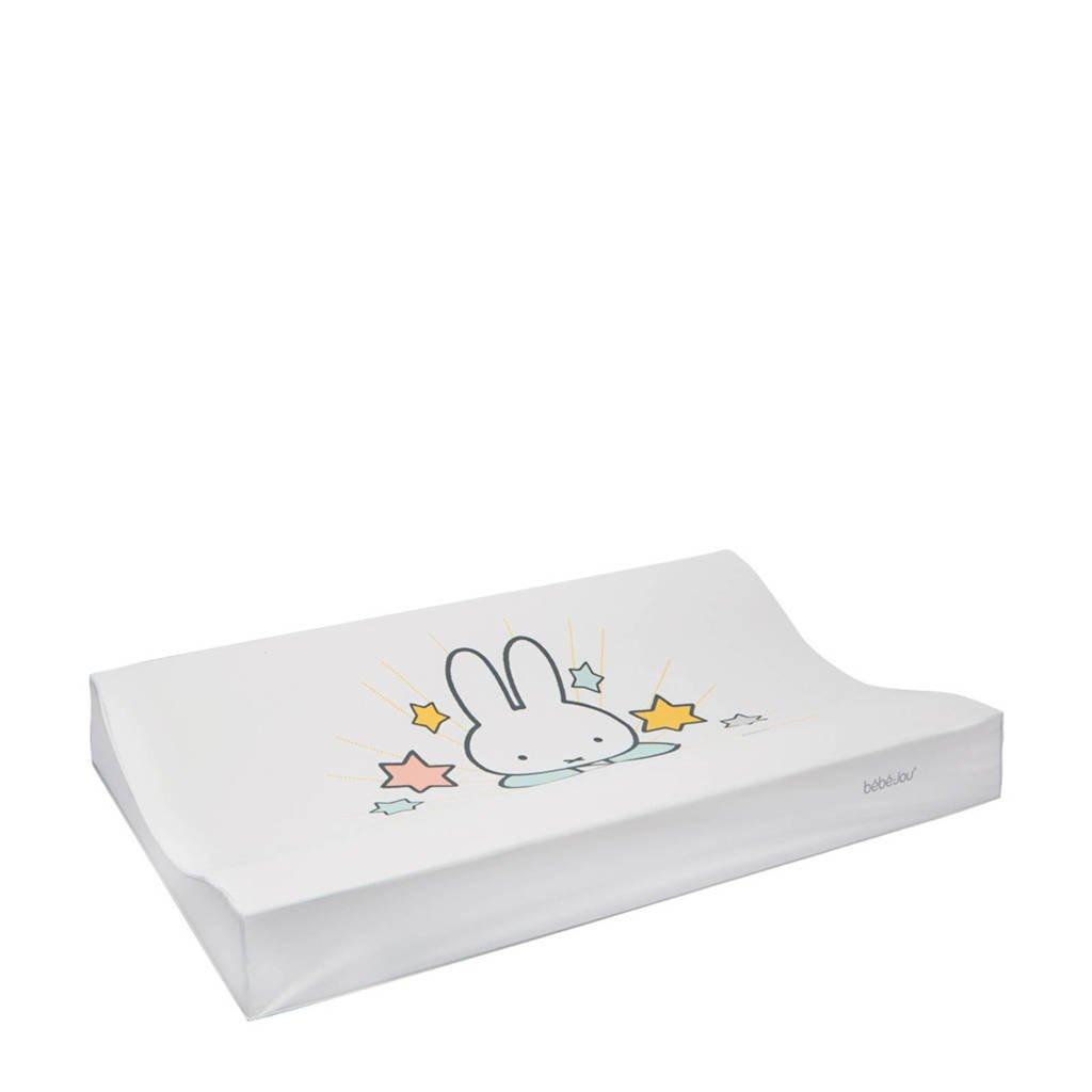 bébé-jou aankleedkussen Miffy, Wit