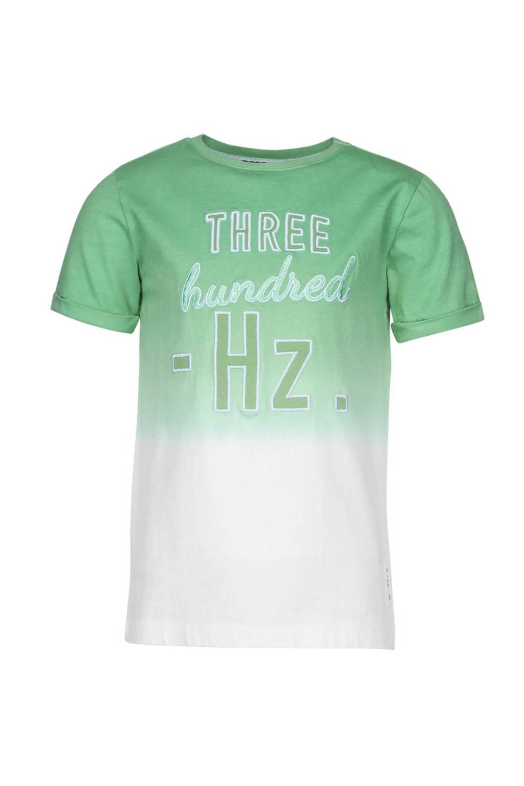 Baker Bridge T-shirt met tekst groen, Groen