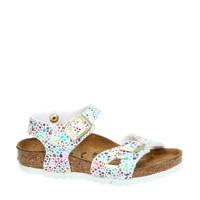 Birkenstock   Rio sandalen wit/multi, Wit/multi