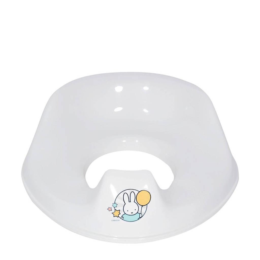 bébé-jou toiletverkleiner de luxe Miffy, Wit