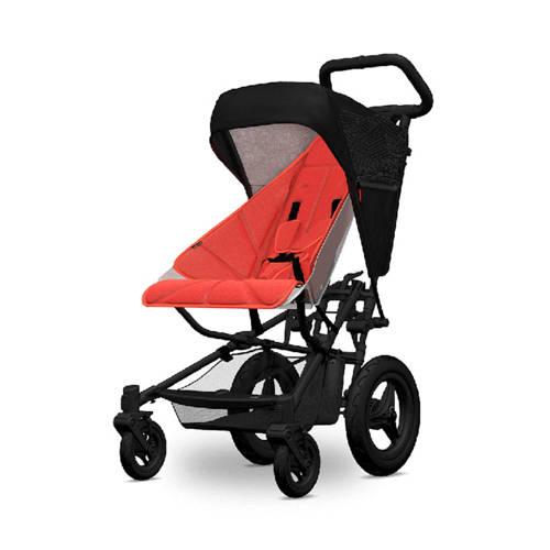 Micralite kap en seatliner voor FastFold kinderwagen zwart/rood kopen