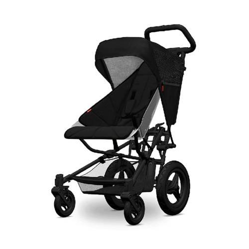 Micralite kap en seatliner voor FastFold kinderwagen zwart/zwart kopen