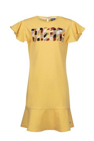 jurk Didi met tekst geel