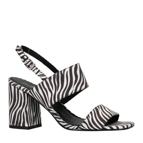 Sacha sandalettes zebraprint