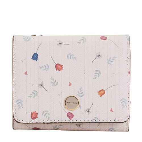 Parfois gebloemde portemonnee roze kopen