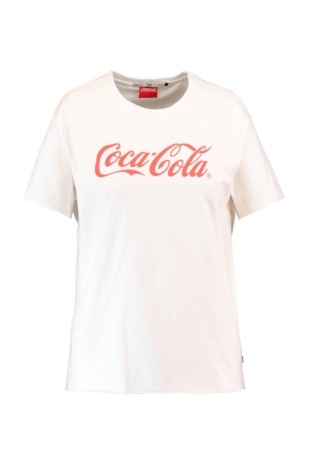 America Today Coca Cola T-shirt, Gebroken wit