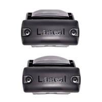 Lascal Bannister installatie kit voor behuizing zwart, Zwart