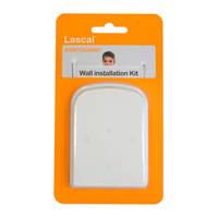 Lascal muur installatie kit wit, Wit
