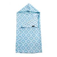 KipKep Blenker M hydrofiele badcape 70x100 cm blauw, Blauw