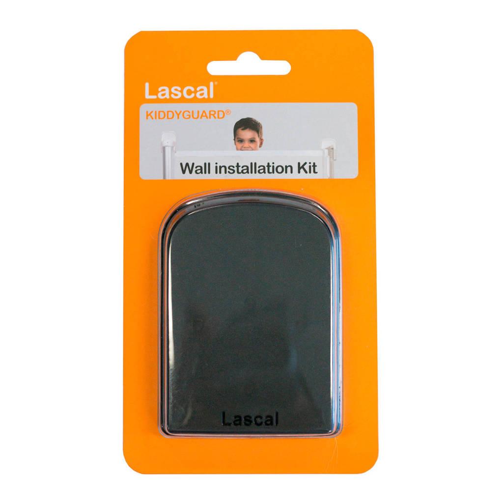 Lascal muur installatie kit zwart, Zwart