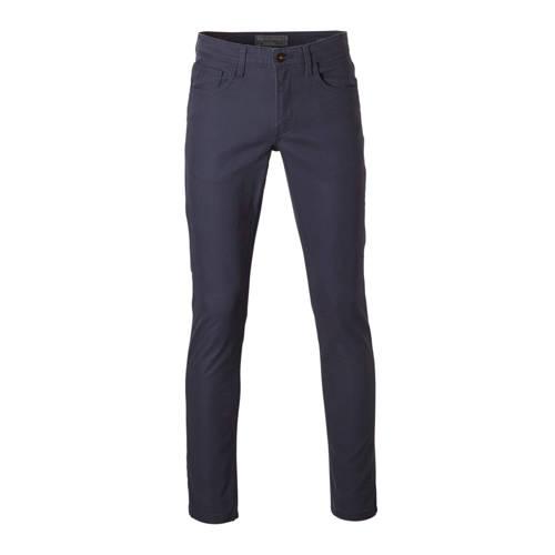 C&A Angelo Litrico slim fit broek donkerblauw