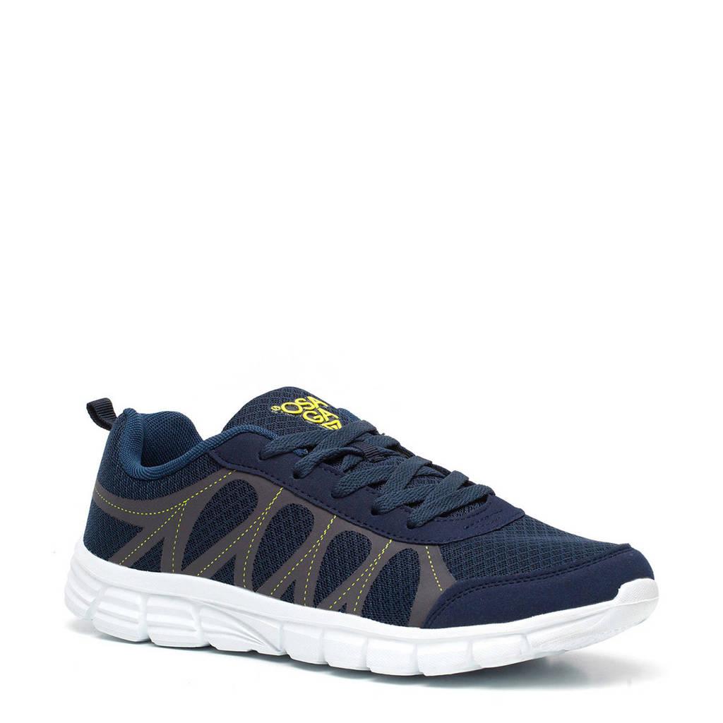 Scapino Osaga   hardloopschoenen blauw, Blauw/geel