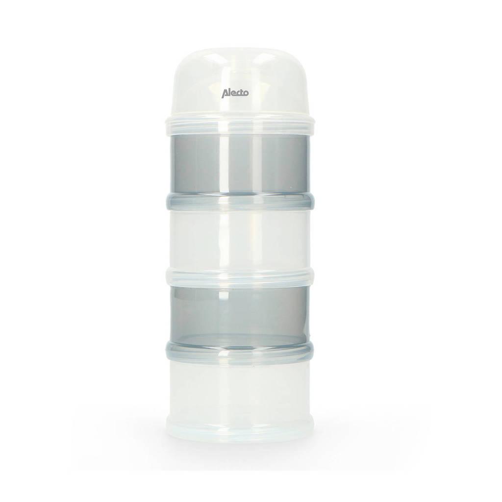 Alecto BF-4 melkpoederdoos, Wit/grijs