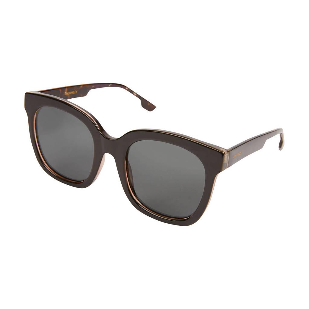 Komono zonnebril Harley Black Tortoise, Zwart