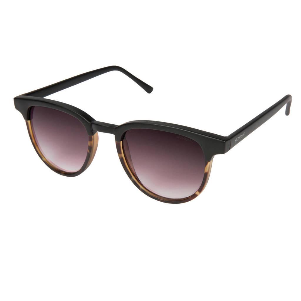Komono zonnebril Francis zwart/bruin
