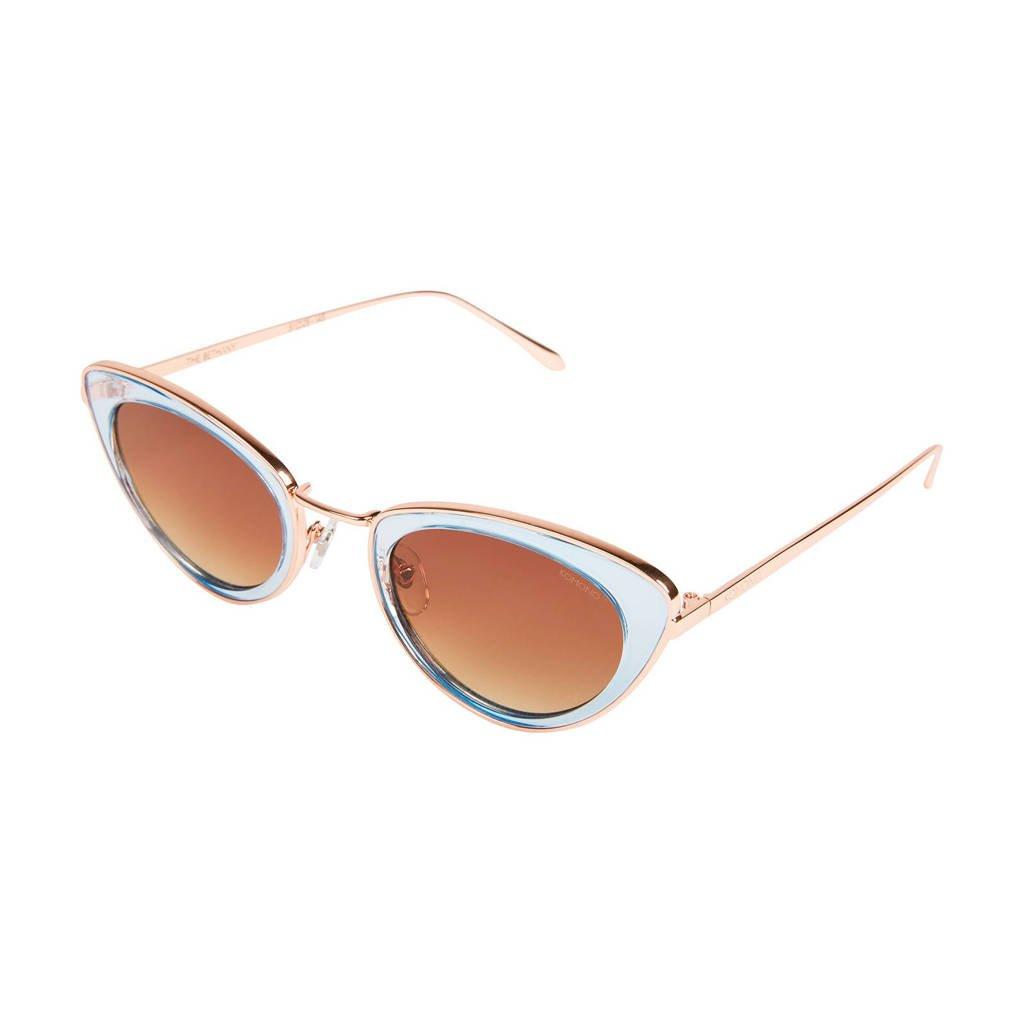 Komono zonnebril Bethany lichtblauw/rosé