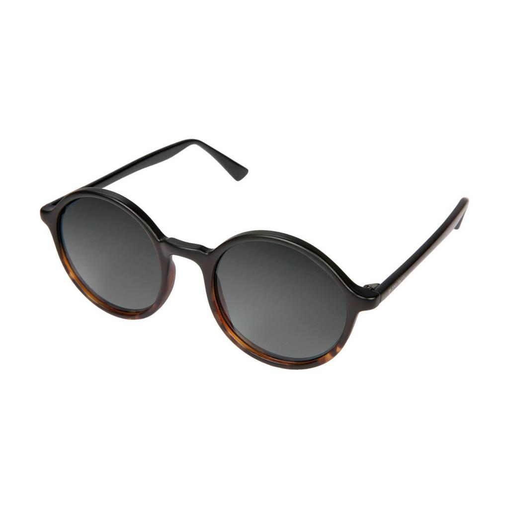 Komono zonnebril Madison zwart/bruin