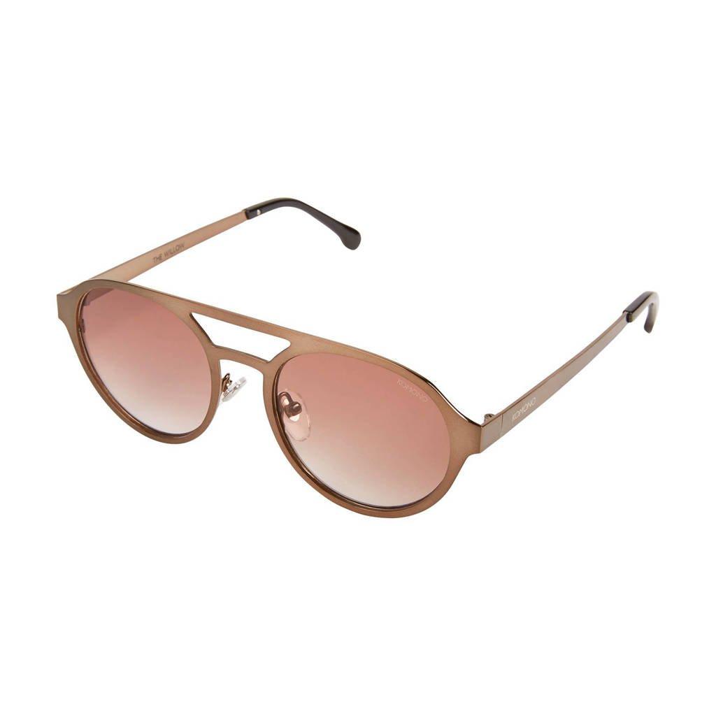 Komono zonnebril WILLOW Pale Copper, roze/goud