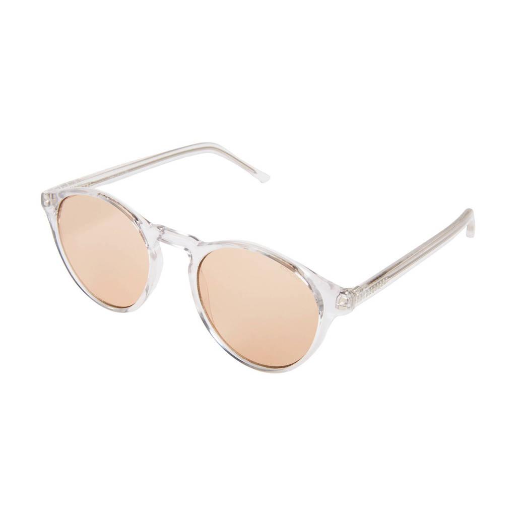 Komono zonnebril DEVON Crystal, Wit