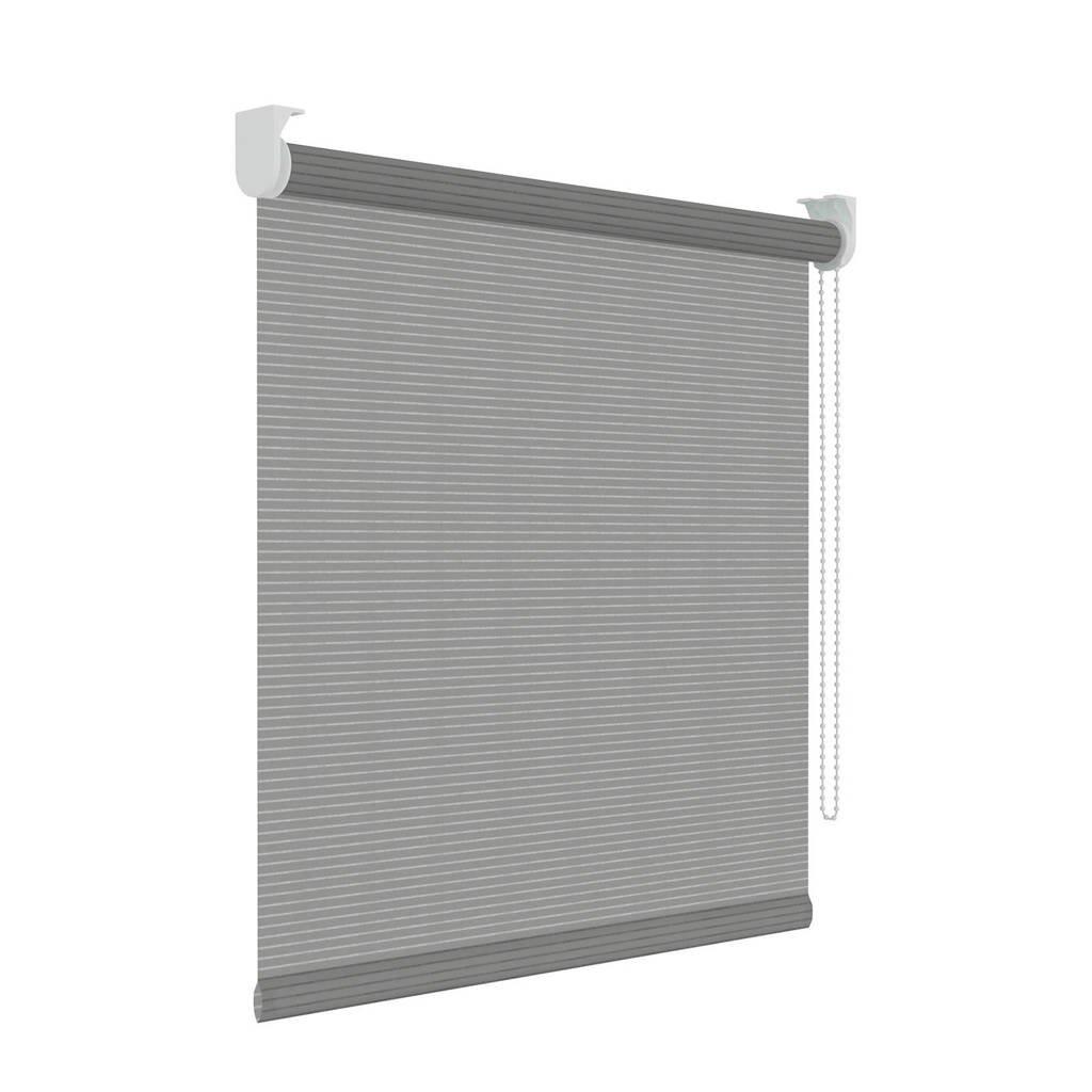 Decosol Licht doorlatend rolgordijn (210x190 cm), Grijs