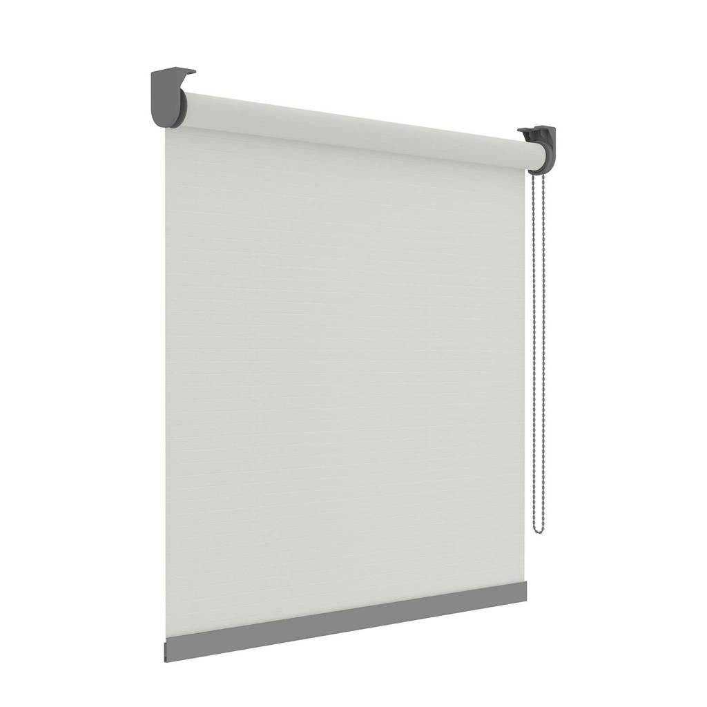 Decosol Deluxe Licht doorlatend rolgordijn (210x190 cm), Wit
