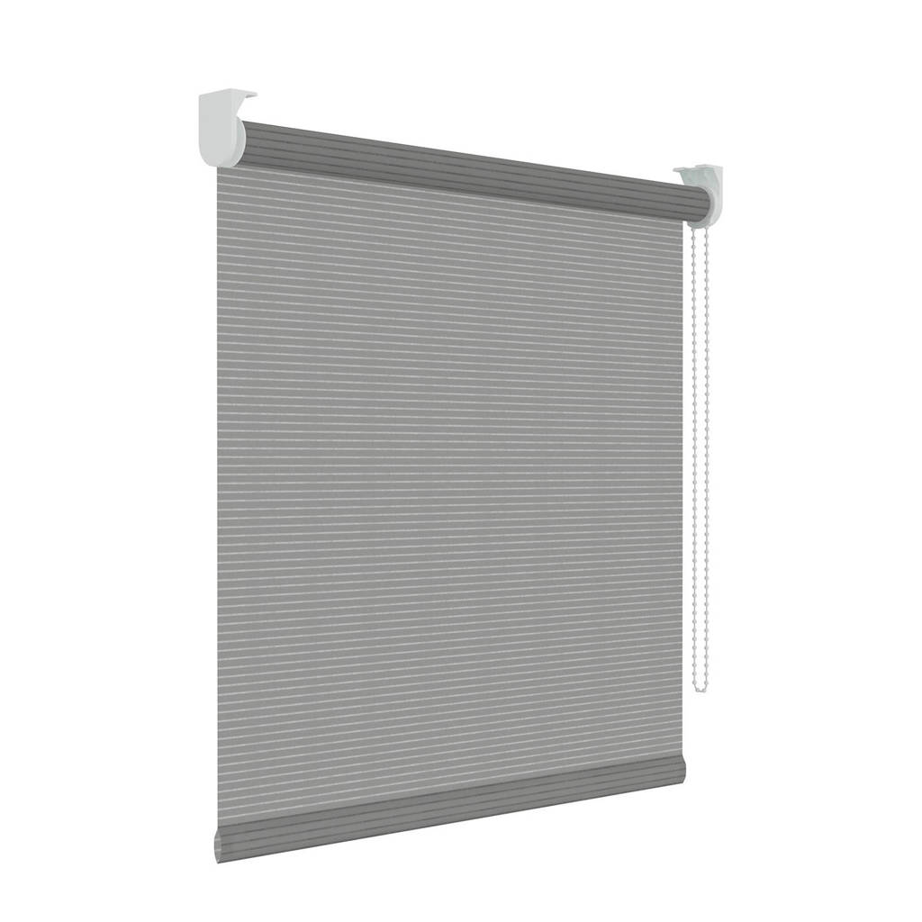 Decosol Licht doorlatend rolgordijn (150x190 cm), Grijs